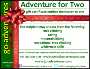 GO-Adventures Gift Card for Adventure - www.go-adventures.com/giftcardforadventure
