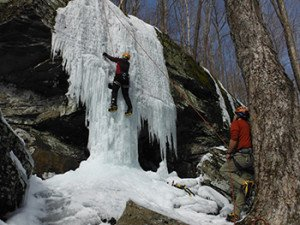 GO-Adventures offers Ice Climbing Clinics in Catskills, NY - www.go-adventures.com