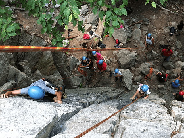 Youth and adult rock climbing for beginners and intermediate level climbers in Maryland, Washington DC and Virginia.